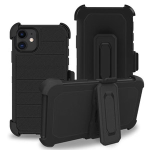 Robuste Defender pour Apple iPhone 11/11 PRO / 11 / MAX iphone11 / 7/8 / XR / XS MAX 3 dans 1 cas avant Ceinture en plastique clip Combo Holster Cover