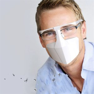 Мужчина женщины защитная маска Маска для лица очковый тип маски бытовые защитные продукты анти капля взрослый 5ws UU