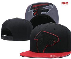 2018 sombreros de los snapbacks de fans fresco de los hombres de las mujeres sombreros Falcons casquillos ajustables de los snapbacks todo el equipo Aceptar nave de la gota