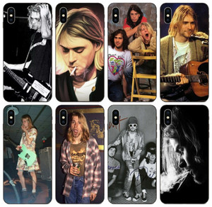 [TongTrade] Nirvana Band Kurt Cobain Case For iPhone X XS 11 Pro Max 8 7 6s 6 5s 5 Samsung A70 A70s A730 Honor V8 V10 Redmi Note 4 1Pcs Case