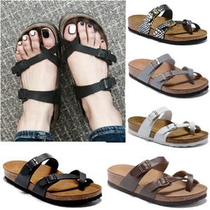 Mayari 805 Florid Giza 2020 estate calda di vendita Uomini Donne appartamenti pantofole sandali in sughero unisex scarpe casual stampare i colori misti Formato US3-15