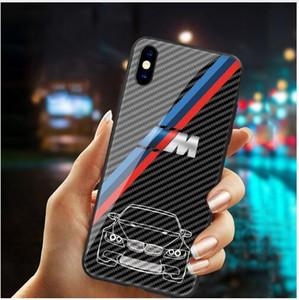 Livraison gratuite verre de luxe tpu BMW Série M Téléphone pour iPhone 11 pro Max xs xr x 5 5s 7 6 6S 8 plus galaxie s8 s9 s10, plus la note 8 9 BMW