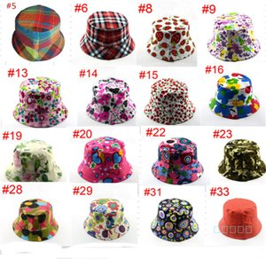 Basin Fisherman Cap Topee Kinder 2-5 Jahre Bucket Hat Fischer Hüte Reisen Freizeit Caps Casual Sommer Golf Outdoor-Flachbreit Visor New B71602