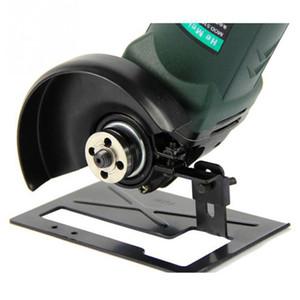 Angle Grinder suporte ajustável ângulo de metal Grinder Acessórios espessamento Quadro Balanço corte Bracket Suporte Ferramentas de tratamento de madeira