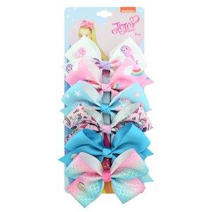 Cross-border burst children's hair ornament sydment set 54 color bow 6 color one-card children's hair clip baby headgear