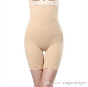 Womens Shapers sólido de control del color de las bragas de manera femenino de la ropa más el tamaño de la cintura Hight ropa ocasional