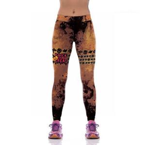 Womens Yoga Pants caldi di vendita Slim Outdoor sport indoor femminili pantaloni di nuovo modo di pantaloni di yoga stampati Digital