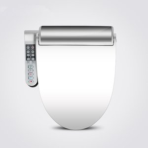 Intelligent Toilet Seat Gold Silver Side Panel Control Electric Bidet Smart Bidet Heating Dry Massage for Wc