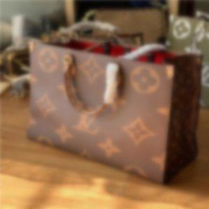 2020 LVLOUISVUITTONhandbags fashion retro ethnic style canvas handmade embroidery pattern shopping bag