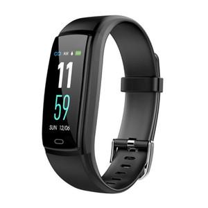 Y9 Smart Uhren Blutdruck Herzfrequenzmesser Fitness Tracker Smartwatch Wasserdichte Smart Armband für IOS Android Handy Armband