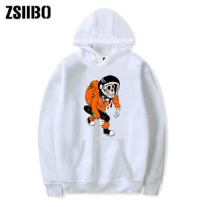19 hommes hoodies designer Halloween Hot vente tendance singe Skeletal imprimé col rond Garde vêtements de loisirs d'hiver T-shirts DHBOWY29