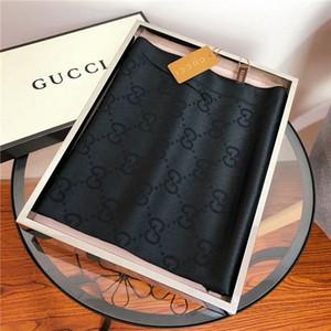 Üreticiler toptan klasik mektup ipek yün atkı şal 180 * 70cm zarif, yumuşak, rahat eşarp şal ücretsiz nakliye