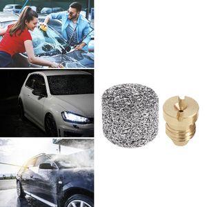 Cheap Water Gun & Snow Lance Foam Generator Pot Filter Cartridge Copper Nozzle Tip for High Pressure Car Washing Gun Foam