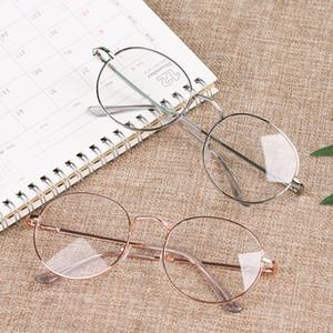 Hot Fashion Round Metal Frame Reading Glasses Unisex Ultralight No Degree New Eyeglasses Eyewear Vintage Women Men Vision Care