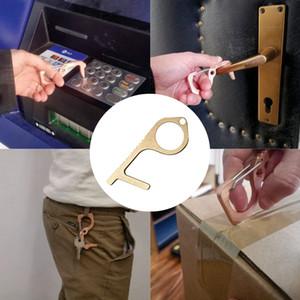 No Touch Abrir protecção Ferramenta Imprensa Elevador Botão gaveta Maçaneta Assistant Ferramenta de Segurança Contactless liga de zinco HHA1276