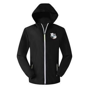 Амьен SC куртка с капюшоном ветровка Survetement, Амьен SC молния ветровка футбол куртка Спорт толстовка спортивная пальто Мужские куртки