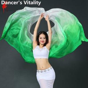 2017 New Belly Dance Veil Accessori danza del ventre Sciarpa di danza del ventre -Veils-Belly-Dance Silk 260 * 114cm