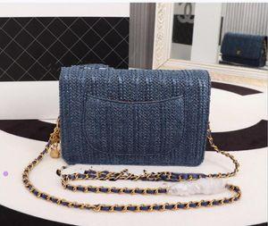 New Fashion Shoulder Bags Chain Men's and Women's Classic 2009 19cm Handbags PU High Quality Crossbody Bags Hot Sale
