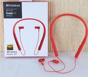 Wireless Bluetooth headset hanging neck sports Bluetooth headset mobile phone running neck hanging wireless portable mass customization