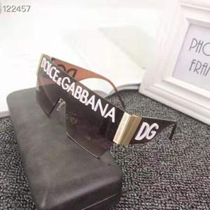 Nuevas gafas de sol de lujo de estilo para las mujeres altas unisex de UV400 de las mujeres de los hombres de calidad y sólo las gafas de sol sin marcos