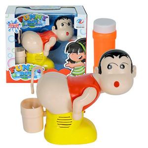 LeadingStar sapone per bambini elettrico Bubble Blower Fart Blowing Bubbles Macchina con musica leggera divertente scherzo giocattolo Y200428