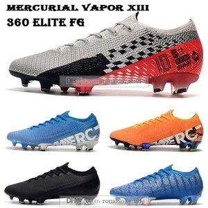 Sac cadeau Hommes Bottes cheville de football Mercurial Vapors 13 Elite FG Chaussures de soccer Neymar NJR ACC Superfly XIII 360 Chut Crampons Football
