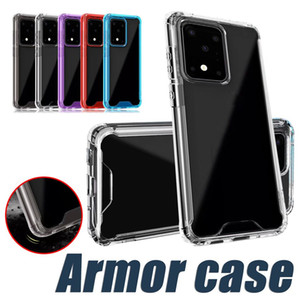 Прозрачный акриловый ТПУ PC Phone чехол для iPhone 11 Pro XS XR 8 Samsung Note 10 S10 S20 S20 Plus Hard Cover Clear