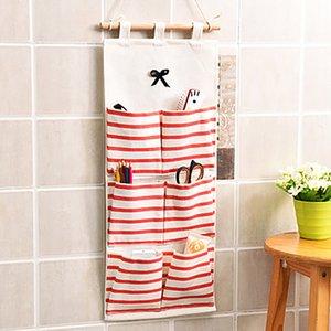 Home storage hanging bag.Wardrobe storage rack.Socks wall hanging storage bag.A magic device for storing underwear with hooks .