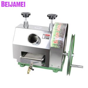 BEIJAMEI 2019 Nueva máquina exprimidora de caña de azúcar pequeña Máquina de fabricación manual de jugo de caña de azúcar para la venta