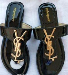 neue 2019 mkBrand Frauen Sandalen große Größe 35-42 Schuhe Luxus Slide Summer Fashion breite flache Slippery mit dicken Sandalen