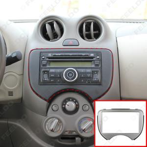 2DIN Araba Radyo Stereo Alınlık Paneli Takma Çerçeve Facia Trim Montaj Kiti İçin Nissan March / Micra (2011-present) #: 2621