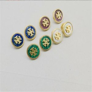 New Fashion Stud Earrings Letters Ear High Quality Retro Stud Earring Jewelry Accessories for Women Wedding Gift Retro