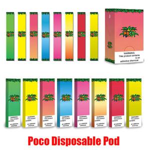 Original Poco Einwegvorrichtung Pod Kit 280mAh Akku 1,3 ml Pods Cartridge Vape Pen Puff Vaporizer Bar Pop Xtra Kits 100% Authentic
