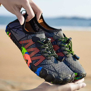 Couples Beach Shoes Men Woman Swimming Shoes Quick Drying Unisex Surfing Slippers Footwear Water High Quality Sneakers 46