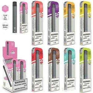 BIDI stick pop Puff Bars plus disposable vape device 280mAh Battery 1.4ml Cartridges starter kit vs puff bar plus pop vape bar puff bar OEM