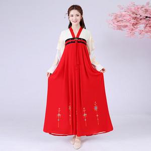 Antiga Dinastia Tang Princesa Roupas Nacional Hanfu mulheres roupas étnicas Chinês Fada vestido real Stage wear Folk Dance Costume