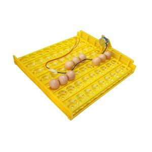 Top 63 яйцо Инкубатор Turn Tray Poultry инкубационного оборудование Куры Утки и другая домашняя птица Инкубатор автоматически повернет яйца