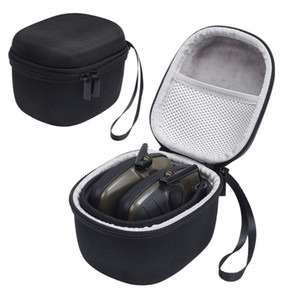 Cheap Bags Storage Bag Carrying Box Case Organizer Cover Pouch Shell Waterproof Shockproof Travel for Howard Leight Earmuff Genesis Sharp-S