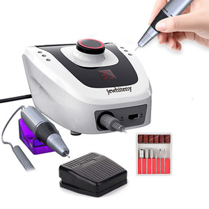 35000/20000 RPM Elettrica Nail Drill Apparato Macchina per manicure Pedicure con Cutter Nail Art Drill tool kit macchina