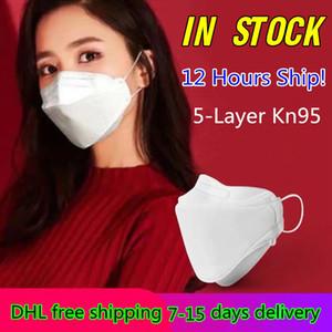 12 horas enviar! Envío libre de DHL Máscaras de entrega 7-15 días reutilizables de la mascarilla de protección a prueba de polvo anti PM2.5 protección mascarillas máscara