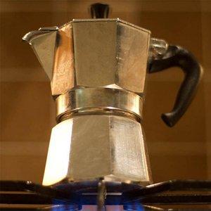 Espresso Latte Cafetera Cafetera 1 Copa 3 Copa 6 taza tazas Percolator Mocha Latte Cafetera Moka Percolator Pot