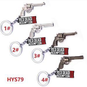 HYS79 jogo Criativo Wilderness Darts 2 Chaveiro Carta Carta Da Pistola 3D Alloy Pingente Bonito Bolsa Chaveiro 8x3 cm 4 Design DHL