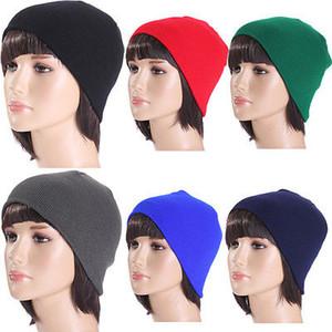 Nouvellement design 2016 cadeau de la mode féminine tricot Baggy Bonnet Skullies Hat hiver chaud bronzante Star Fashion manches Head Cap