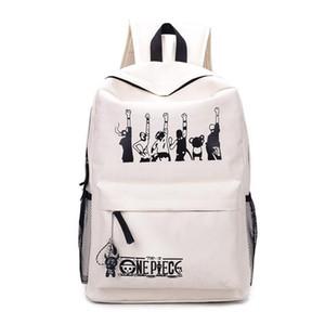 Designer-un morceau sac à dos durable sac à dos belle luffy différentes couleurs animée AB142