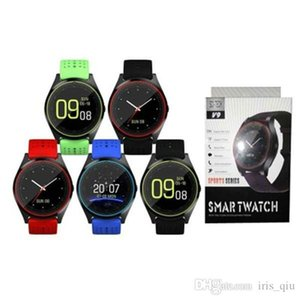 Bluetooth samsung smart watch V9 with Camera smartwatch Pedometer Health Sport Clock Hours Watches For Android IOS reloj inteligente