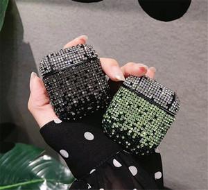 새로운 패션 대 다이아몬드 빛나는 빙 Airpods 사례를 들어 애플 Airpods 커버를 들어 에어는 에어 팟 애플 케이스와 소매 상자 포드
