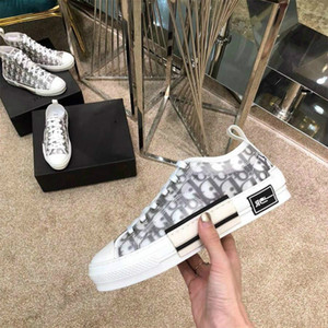 Dior shoes b23 2020 Nueva alta calidad alta-top Calzado Hombre Jones diseñador de los hombres de las mujeres de moda de los zapatos ocasionales B23 B22 B24 Skateboard Zapatos