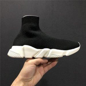 2Luxury Socken-Schuh-beiläufige Schuh Speed Trainer-Qualitäts-Turnschuhe Speed Trainer Socke Rennen Läufer schwarze Schuhe Männer und Frauen Frühlings-Designer