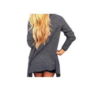 2019 뜨거운 판매 니트 카디건 Feminino 여성 카디건 여성 단색 불규칙한 sueter 대형 긴 카디 건 여성 스웨터
