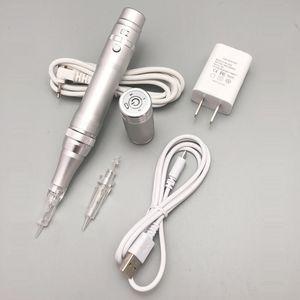 Penna a macchina di trucco permanente elettrica di bellezza della macchina del tatuaggio del sopracciglio senza fili di alta qualità con gli aghi della cartuccia